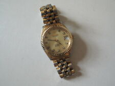 Authentic Swiss Pronto Gold Plated Automatic Watch ETA 2824-2