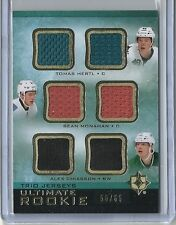 2013-14 Ultimate Collection Tomas Hertl Sean Monahan Alex Chiasson Jersey #56/65