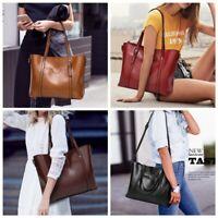 Women Real Genuine Leather Bag Handbag Shopping Crossbody Shoulder Messenger New