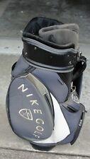 Nike Golf 2002 Navy Blue, Black, & Grey 8-Way Cart Golf Bag