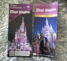 Disney Magic Kingdom Guide Maps Lot of 2
