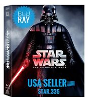 BRAND NEW STAR WARS: THE COMPLETE SAGA 1-9 BLU-RAY DISC BOX SET - SHIP FAST!!!