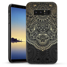 Gold pattern Mandala Dual Layer heavy duty Case Cover For Samsung Galaxy Note 8