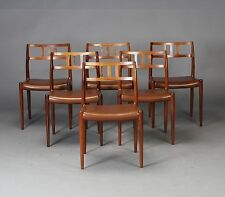 NIELS O  M LLER  MOLLER  MODEL 79 ORIGINAL VINTAGE DANISH ROSEWOOD CHAIRS   6 Rosewood Chairs   eBay. Moller Chair Ebay Uk. Home Design Ideas