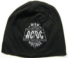 """AC/DC JERSEY BEANIE # 4 / MÜTZE / CAP """"HIGH VOLTAGE"""""""