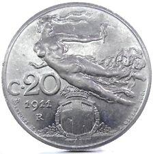 Savoia-Regno d'Italia (Vittorio EM.III) 20 Cent.-1911