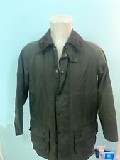 barbour beaufort Jacket Giubbotto Uomo Size C38/ 97 Cm Cerato Made England
