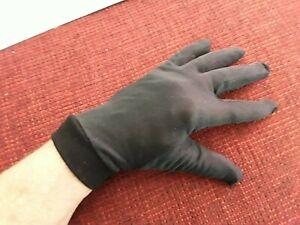Seidehandschuhe Motorrad Unterziehhandschuhe schwarz * Seide * Gr. M, L oder XL