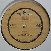 New listing Ltd200 Sheets British Reggae Band The Skints Out My Mind