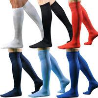 Men Boys Sports Football Soccer Long Socks Over Knee High Sock Baseball Hockey