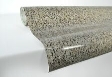 Beige black marble vinyl 22ft x 4ft for kitchen counter tops and furniture sheet