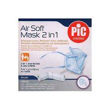 PIC SOLUTION maschera maschera di ricambio Air Soft 2in1 adulti/bambini inalazione dispositivi