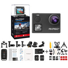 AKASO V50 Native 4K 20MP WiFi Action Camera Waterproof DV Camcorder + Accessory