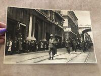 FOTO FOTOGRAFIA SFILATA 2º REGGIMENTO ALPINI ROMA 1935 Attilio Bonino