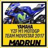 Kit Adesivi Yamaha M1 MotoGP Team Movistar 2017 - High Quality Decals