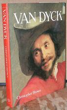 Van Dyck by Christopher Brown-Cornell University Press 1st Ed./DJ-1983
