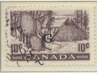 Canada Stamp Scott #O26, Used
