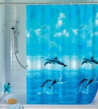 WENKO Dolphin Shower Curtain Multi-coloured 180 X 200 Cm