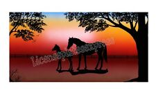 Personalized Monogrammed Custom License Plate Auto Car Tag Horse 27