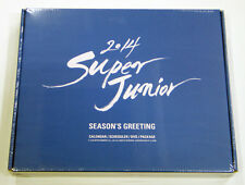SUPER JUNIOR - 2014 Season Greeting [Desk Calendar+Scheduler+DVD+Gift Photocard]