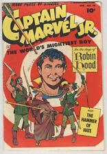Captain Marvel Jr #118 April 1953 VG Classic Cover