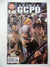 batman G C P D gotham city police department  1  dc  comics