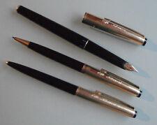 Kolbenfüller - Geha - 585 Goldfeder - Set - 3 Teile