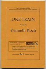 Kenneth KOCH / One Train Uncorrected Proof 1st 1994