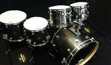 DW Drumset Performance Pewter Sparkle Finish Ply Schlagzeug USA Batterie