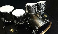 DW Drumset Performance Pewter Sparkle Finish Ply Schlagzeug USA Batterie