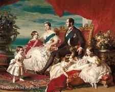 Queen Victoria Prince Albert and Children by Winterhalter 8x10 Print 0635