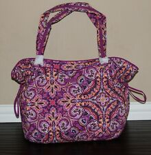 💚 NWT Vera Bradley Iconic Glenna Tote Bag XL Shoulder Purse Dream Tapestry