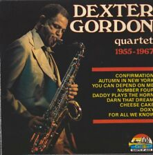 Dexter Gordon Quartet 1955-1967 1990 Giant Of Jazz CD Album