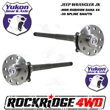 Jeep Wrangler JK | JKU 07-18 Dana 44 30 Spline Chromoly Rear Yukon Axle Kit