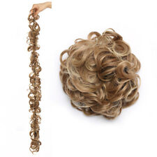 Beauty Pony Tail Women Messy Hair Bun Hairpiece Extension Scrunchie Fake Hair AT