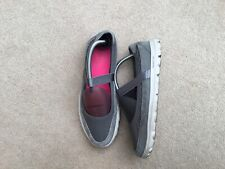 Women's Sketchers Comfort Shoes Size 7 In Grey/pink