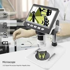 1000X4,3 Zoll Digital Mikroskop HD 1080P Elektronische Desktop Löten LCD Lupe