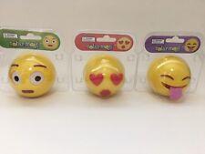 Emoji Solar Powered Dancing Animated Bobbleheads Eyes Tongue Heart Car Figure