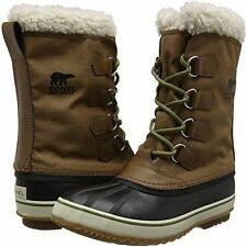 New in Box Sorel Mens 1964 Pac Nylon NM 1440-260 Cold Weather Nutmeg Brown 14 D