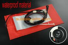 Universal Carbon Fiber waterproof Seat Heater Kit Heated Pad For Motorcycle ATV