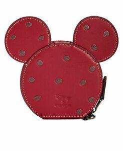 Coach X Disney Mini Mouse Coin Case - Factory New - Rare collectible!