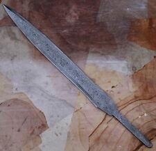 Handmade Damascus Steel Knife Sword Blank Blade  Full tang  23 Inch