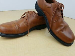 Men's Red Wing 4627 light brown Leather Casual Work Shoes, Size 11.5 EE
