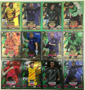 TOPPS CRICKET ATTAX 2021 THE HUNDRED 100 CHOOSE YOUR FOIL CARDS FROM LIST 1
