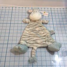 New NAT & JULES Preston Zebra Rattle Blankie - baby - gifts - nursery