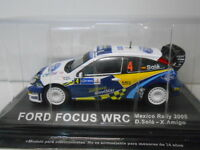 FORD FOCUS WRC SOLA RALLY MEXICO 2005 ALTAYA IXO 1/43