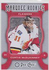 07/08 OPC...CURTIS McELHINNEY...MARQUEE ROOKIES...CARD # 514...FLAMES