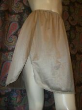 Vintage Vanity Fair Taupe Silky Nylon Mini Half Slip Lingerie M