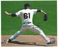 Josh Osich San Francisco Giants Autographed 8x10 photo Home Shot Back View
