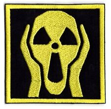 Nuclear bomb applique Patch  nuclear scream Iron/sew on patch